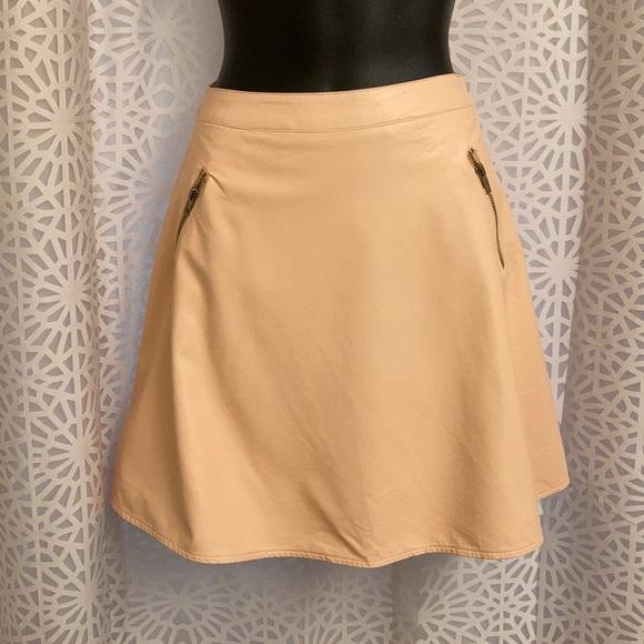 Ark & Co Dresses & Skirts - ark & co pleather skirt with zips